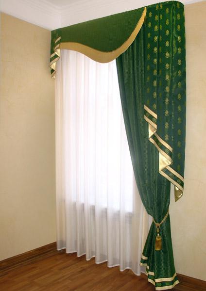 шторы с жестким ламбрикеном